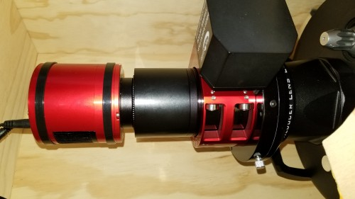 Moonlite focuser backspacing with ZWO ASI 294MC-Pro camera